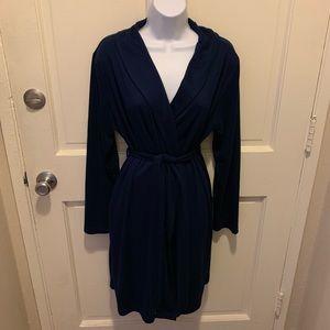 Gilligan & O'Malley Intimates & Sleepwear - Gilligan & O'Malley Navy Robe